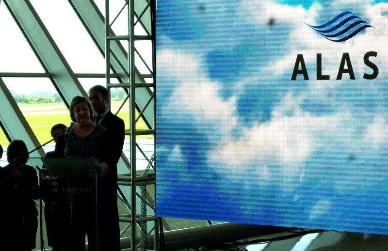 En la presentación de Alas Uruguay, principal apuesta para mejorar la conectividad aérea regional.