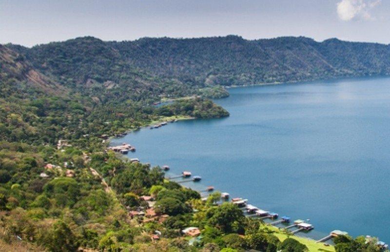Lago de Coatepeque , Santa Ana, El Salvador. #shu#