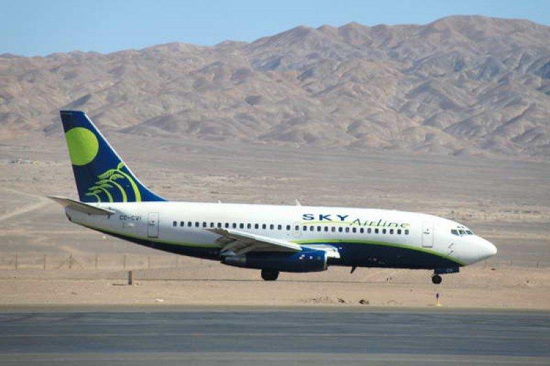 Chilena Sky Airline recibió certificación IOSA