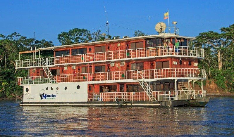 El crucero Manatee Amazon Explorer.