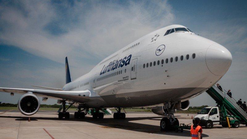 Boeing 747-78i. (Foto: Adrian Escandar, Infobae).