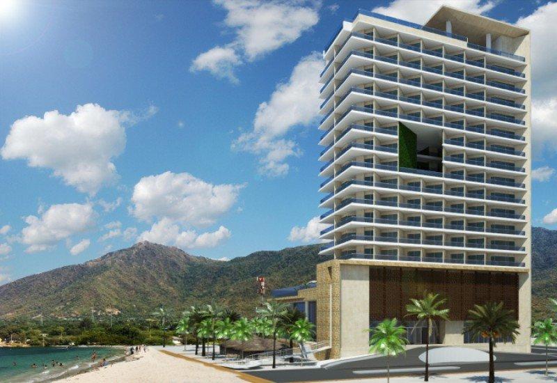 El hotel de 17 pisos y 261 habitaciones se levantará a 20 minutos del aeropuerto de Santa Marta.
