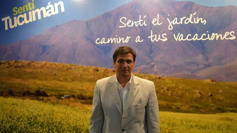 Bernardo Racedo Aragón, presidente del Ente Tucumán Turismo.