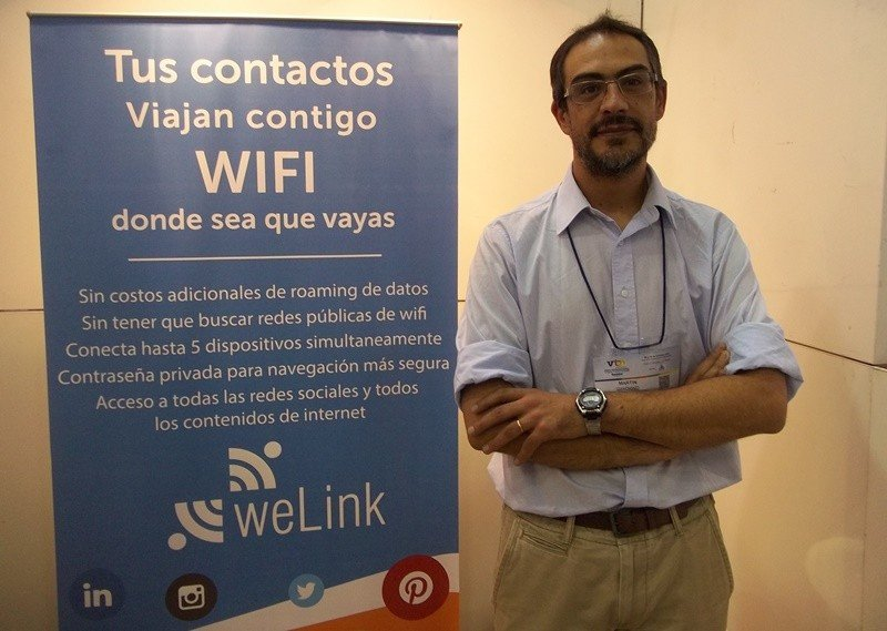 Martín Giachino, gerente de tecnología de WeLink.