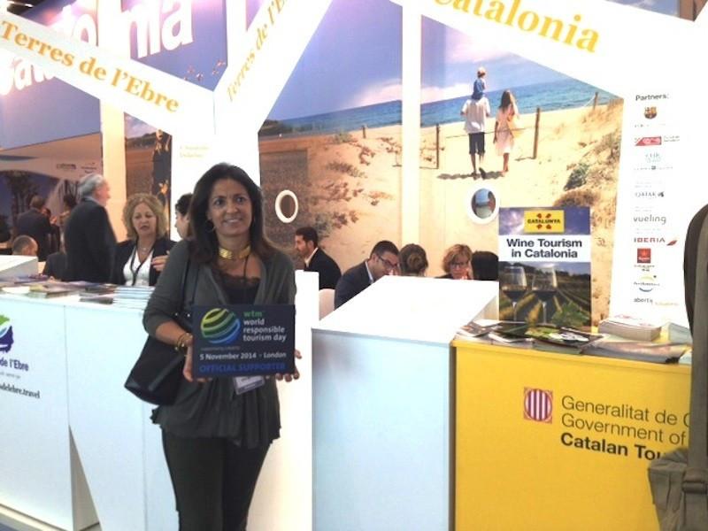 Marián Muro, directora general de Turismo de la Generalitat de Cataluña, recogió en WTM un galardón que reconoce a este destino por el trabajo que está haciendo para favorecer el turismo accesible.