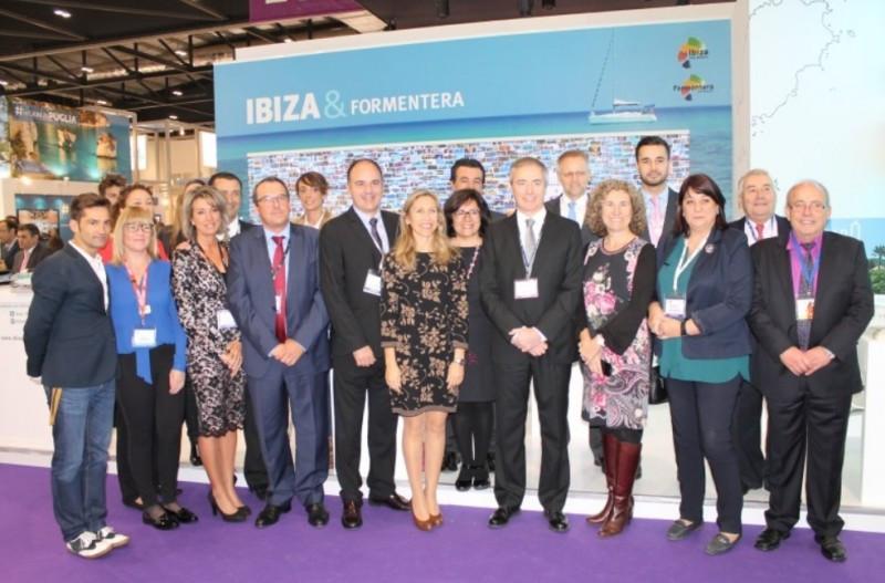 Ibiza participó en la feria WTM con un estand propio.