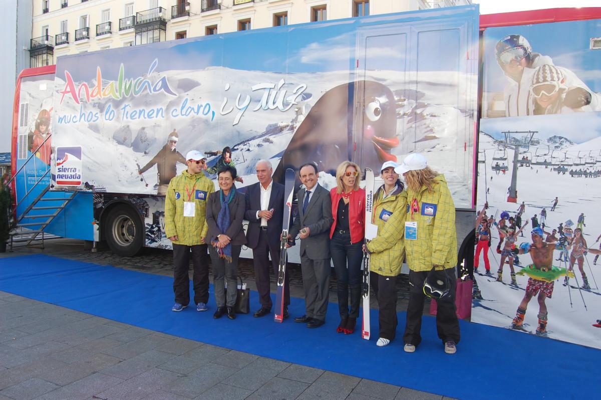 El consejero de Turismo y Comercio, Rafael Rodríguez, participó ayer en la presentación celebrada en Madrid.
