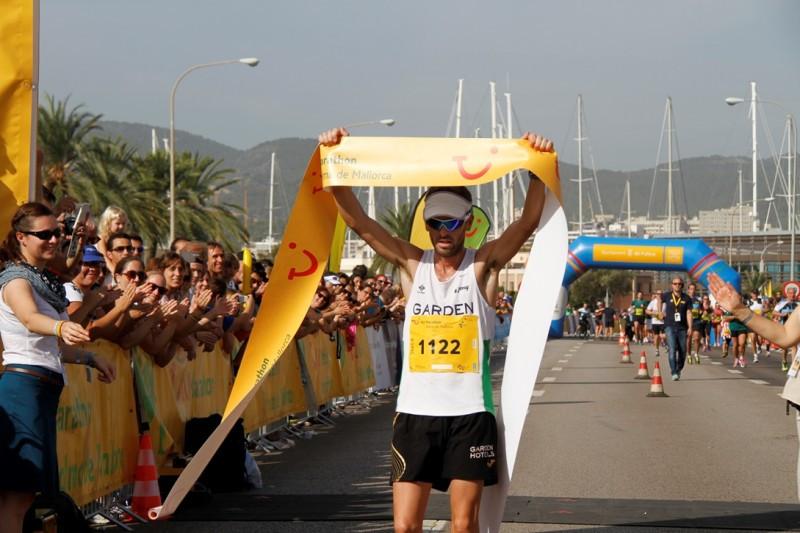 Imagen de la TUI Marathon 2014.