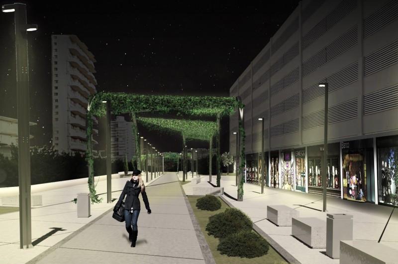 El proyecto de renovación de Magaluf llegará a la segunda línea de playa.