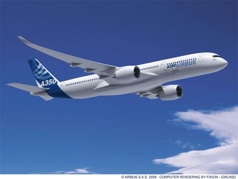 El A350-9 ha sido certificado por las autoridades europeas y estadounidenses.
