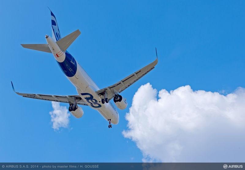 Airbus Group gana 1.400 M € en nueve meses