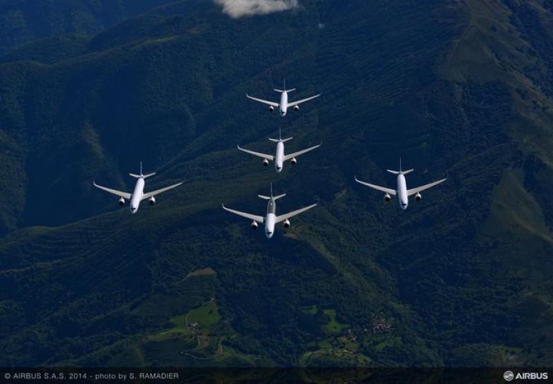 El Airbus 350-900 recibe la aprobación de EEUU