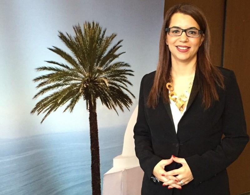 La nueva ministra de Turismo de Túnez, Amel Karboul.