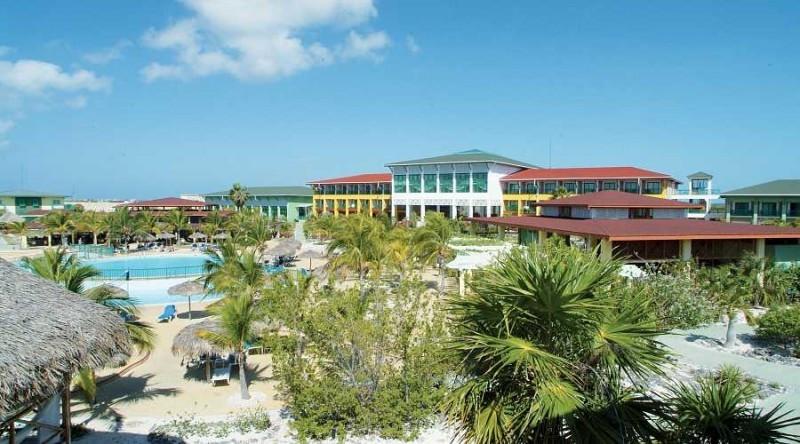 El ahora Olé Playa Blanca de Cayo Largo en la isla cubana de La Juventud.