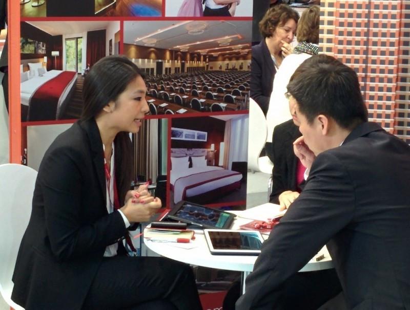 En la EIBTM se observa cómo los equipos de ventas de cadenas hoteleras europeas ya cuentan con personal chino para tratar con los clientes de dicho mercado emisor.