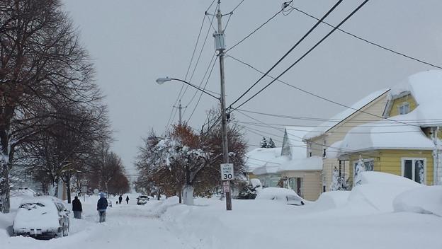 Todo el país registró el martes temperaturas que rondaron los cero grados.