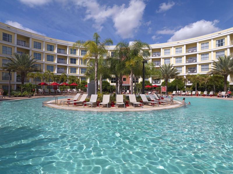 Meliá Orlando Suite Hotel, el establecimiento que tiene la cadena ya en Florida.