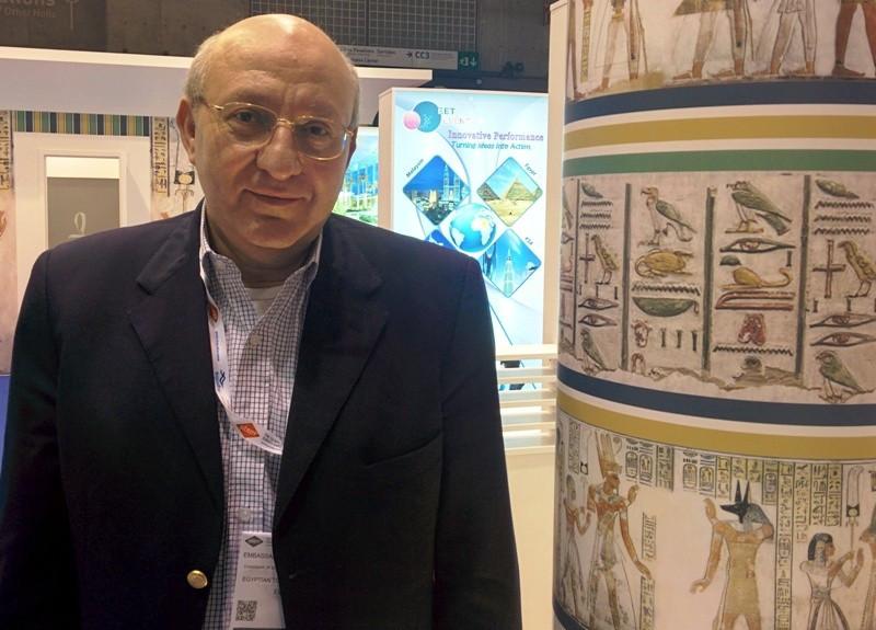 Nasser Hamdy, presidente de la Autoridad de Turismo de Egipto.