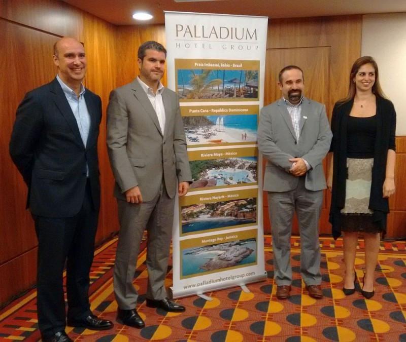 Alejandro Páez, Jesús Sobrino, Sergio Zertuche y Carollina Abud.