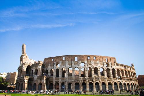 El Coliseo, uno de los monumentos más visitados de Roma. #shu#