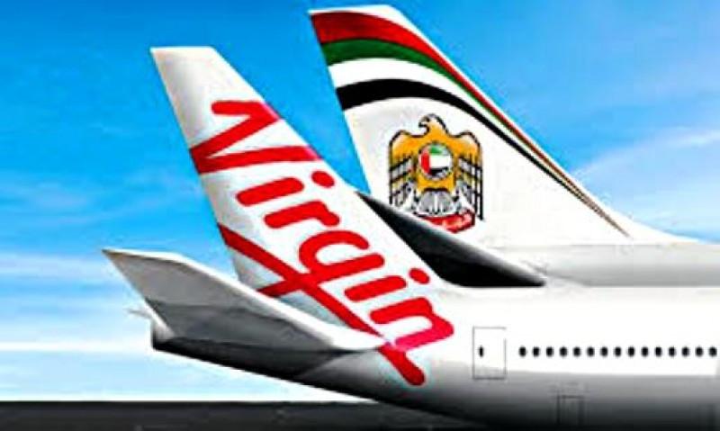 Etihad aumenta su participación en Virgin Australia al máximo permitido