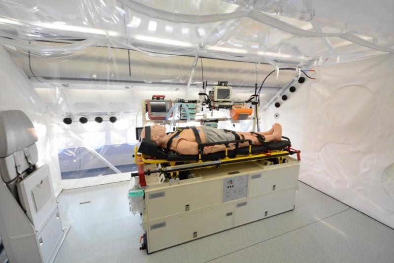 Fotonoticia: Lufthansa, primer avión para transportar pacientes con ébola