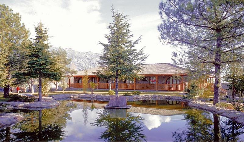 El Hotel Balneario BlueSense Sierra Madrid ofrece espectaculares vistas al Parque Nacional de la Sierra de Guadarrama.