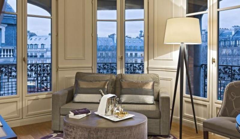 Citadines Suites Louvre en París.