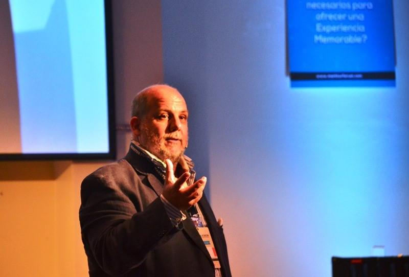 Gabo Nazar, presidente de Grupo Cardón en el Marktur Forum 2014.