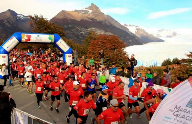 Media Maratón del Glaciar, Calafate.
