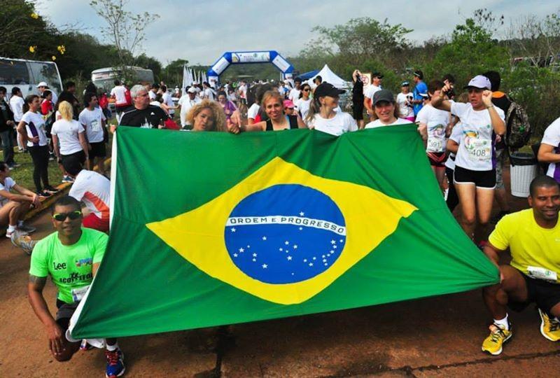 Los turistas que participaron de la Media Maratón de Iguazú fueron en su mayoría extranjeros.