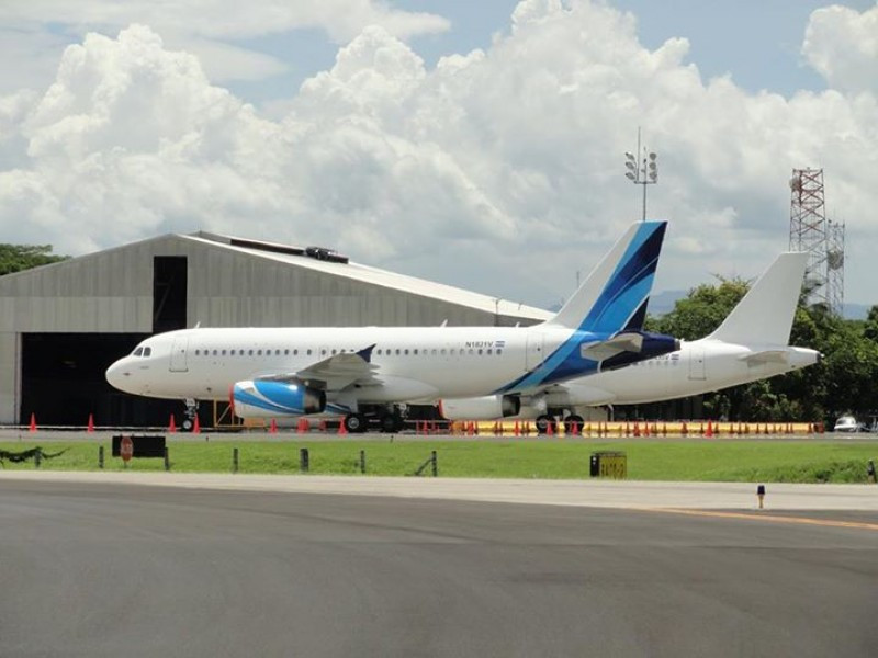 Los aviones de Veca Airlines son dos Airbus A319.