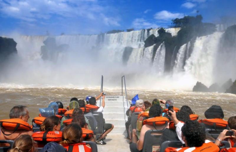 Las Cataratas del Iguazú son el segundo destino más elegido por los extranjeros, después de Buenos Aires.
