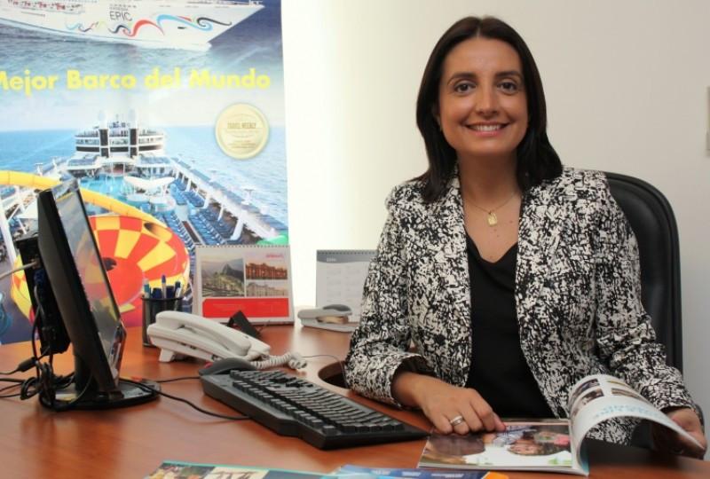 Ana Inés Fuentes, nueva socia directora de Encruceros y viajes.