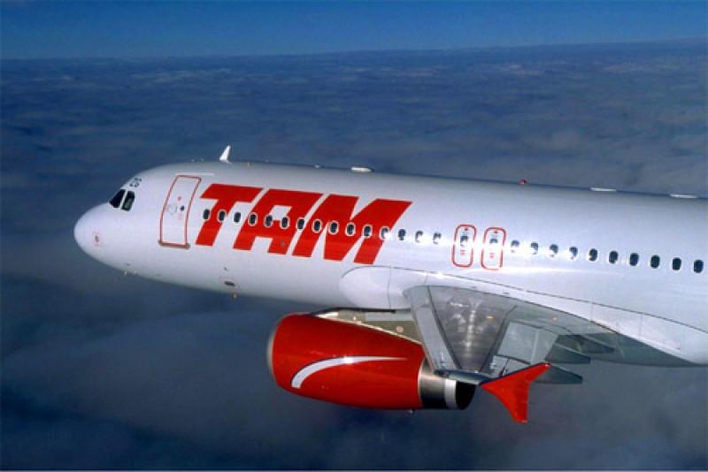 LATAM vuela entre Montevideo y Rio con sus Airbus A 320.