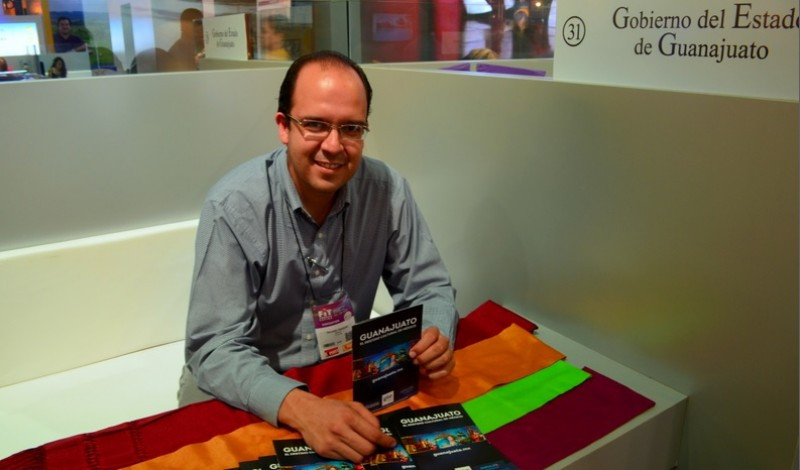 Ricardo Vázquez, director de promoción y difusión del Estado de Guanajuato.