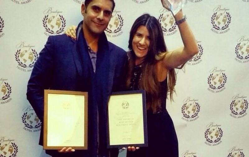 Los propietarios Fernando Dávila y Loisse Herger fueron doblmente premiados en Londres.