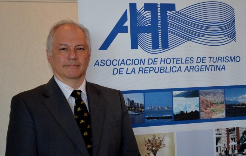 Carlos Montaldo, presidente de la Asociación de Hoteles de Turismo.