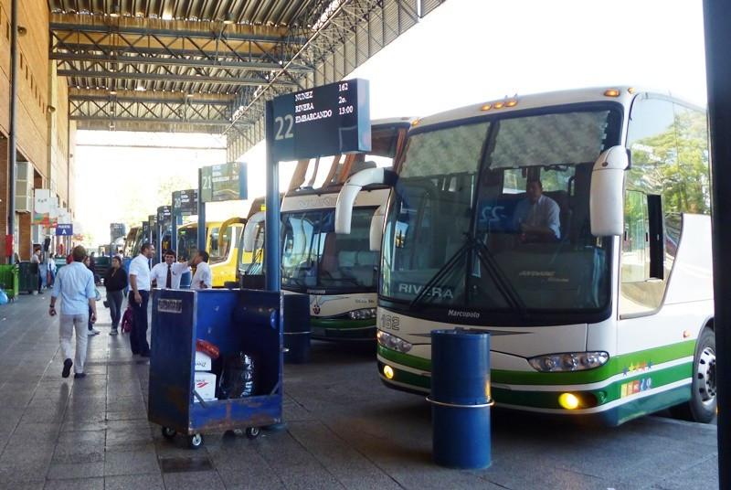 La terminal de Tres Cruces concentra 88% del tráfico terrestre en Uruguay.