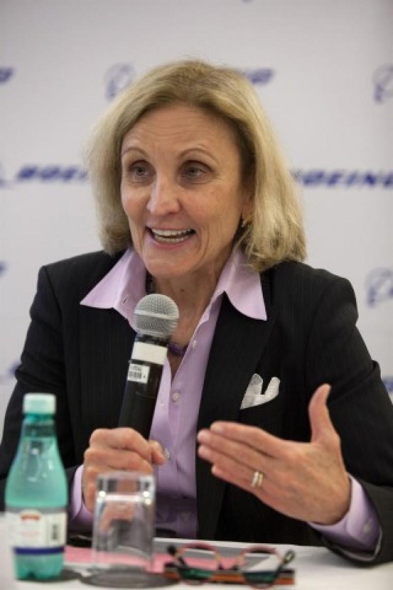 Donna Hrinak presidirá Boeing en Latinoamérica y Brasil