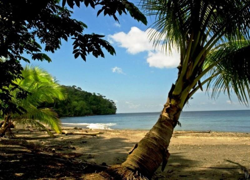 Isla de Gorgona en el Pacífico de Colombia.