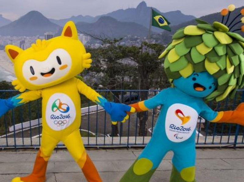 Las mascotas están inspiradas en la fauna y la flora de Brasil.