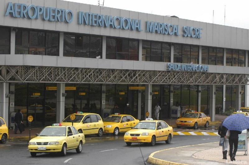 El 45% de los extranjeros ingresa a Ecuador por el Aeropuerto Mariscal Sucre de Quito.