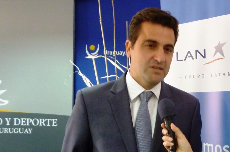 Francisco Chiari, gerente general de grupo LATAM en Uruguay.