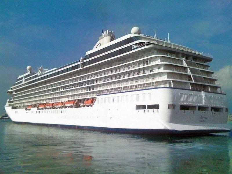 El Marina abrió la temporada de cruceros en Punta del Este.