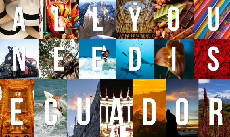 Costará US$ 3,8 millones la segunda etapa de All You Need is Ecuador.