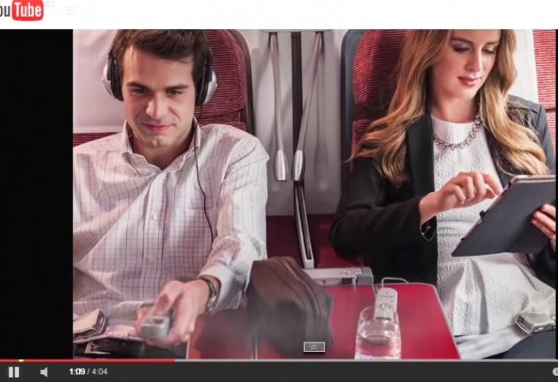 Mejora de la experiencia a bordo con un nuevo set de entretenimiento para dispositivos personales.