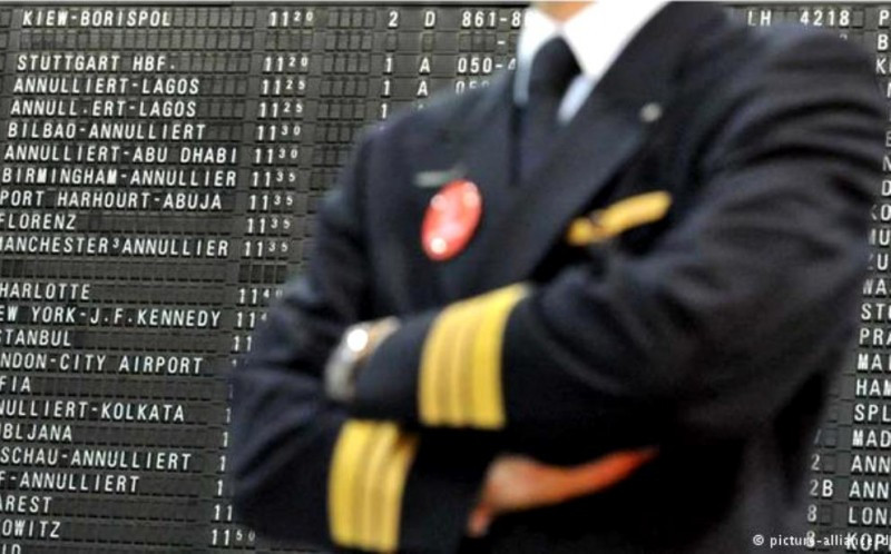 Lufthansa cancela 926 vuelos este martes, 23 de ellos entre España y Alemania