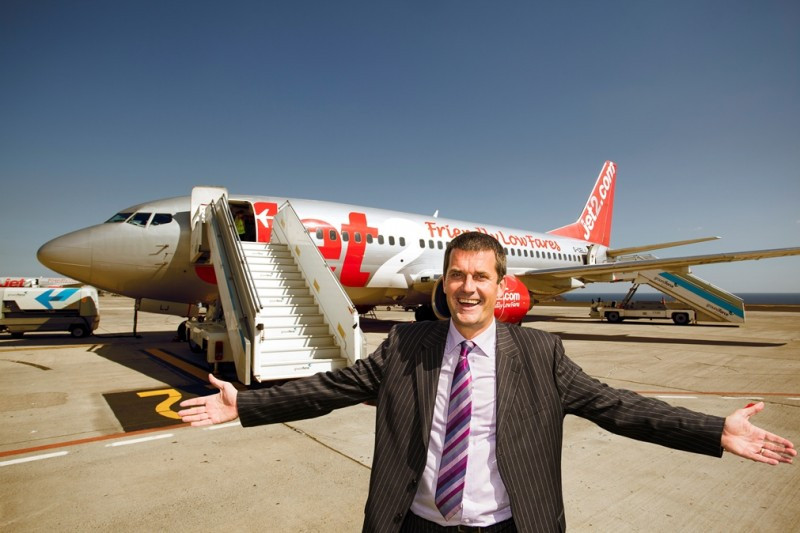 El director general de Jet2Holidays, Steve Heapy.