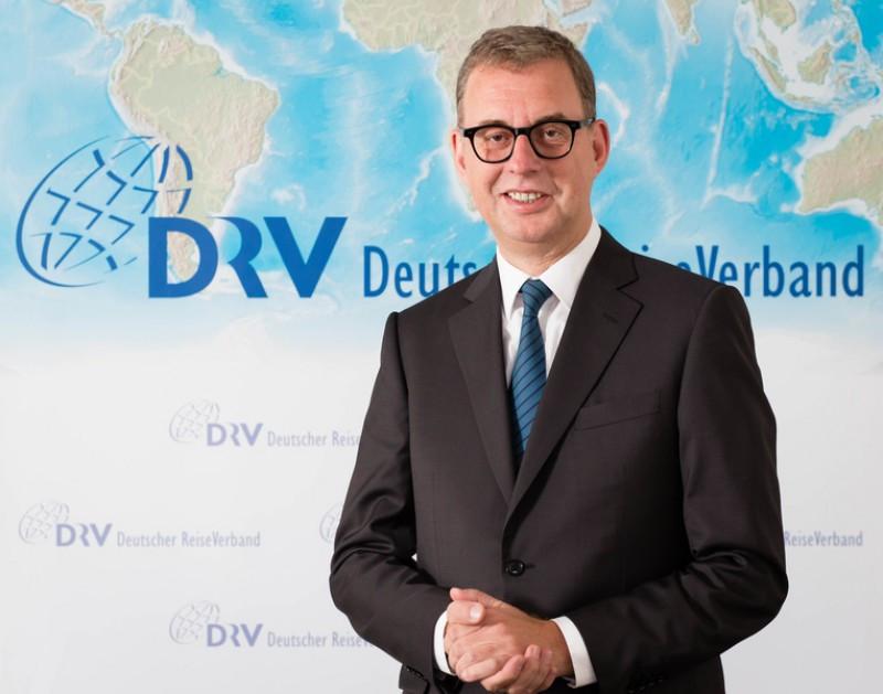 El nuevo presidente de la DRV, Norbert Fiebig.